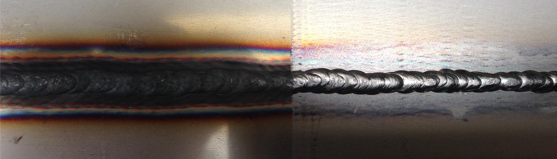 Décapage laser de soudure acier